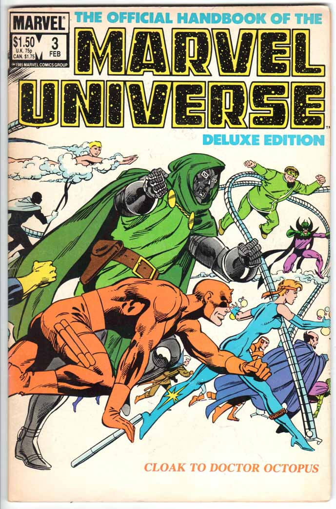 Official Handbook of the Marvel Universe Deluxe Edition (1985) #3