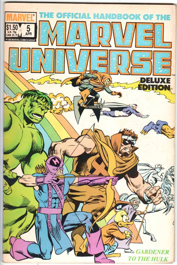 Official Handbook of the Marvel Universe Deluxe Edition (1985) #5