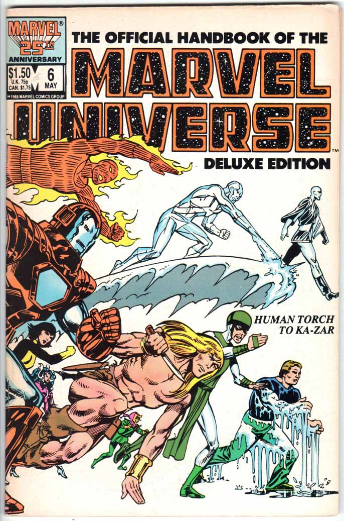 Official Handbook of the Marvel Universe Deluxe Edition (1985) #6