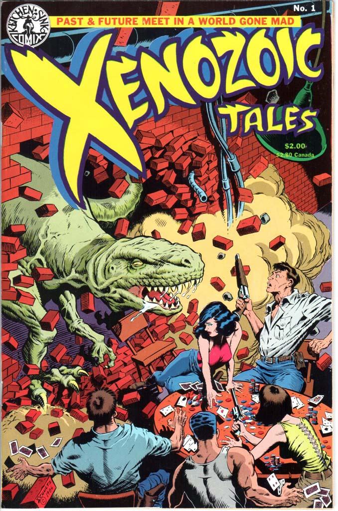 Xenozoic Tales (1987) #1