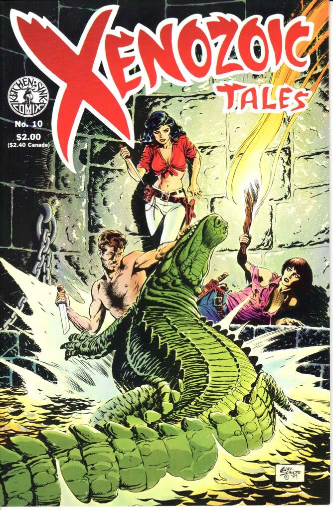 Xenozoic Tales (1987) #10