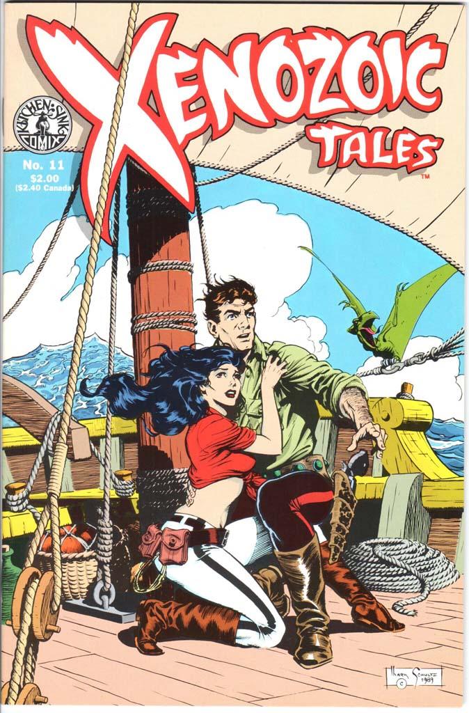 Xenozoic Tales (1987) #11