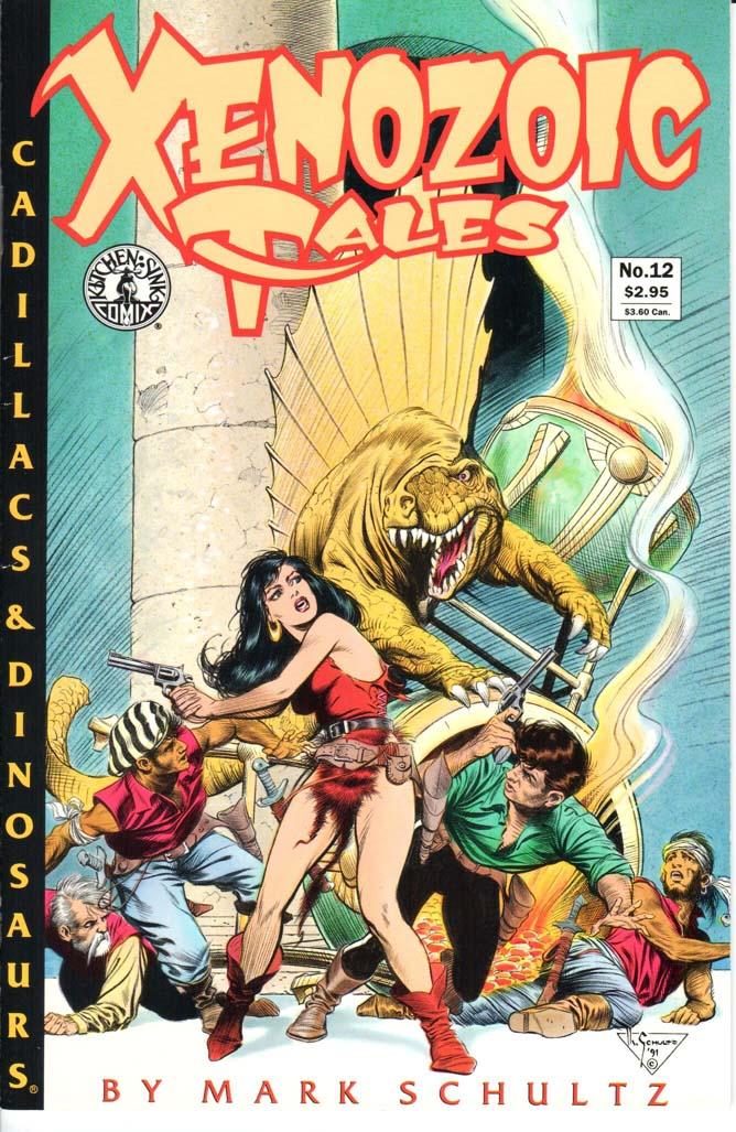 Xenozoic Tales (1987) #12