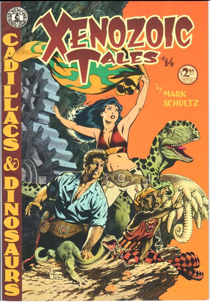 Xenozoic Tales (1987) #14