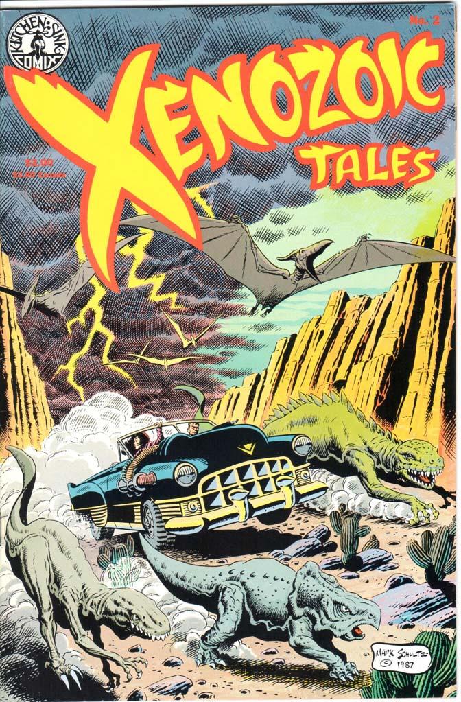 Xenozoic Tales (1987) #2