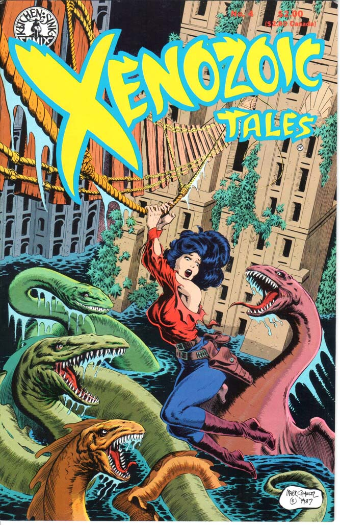 Xenozoic Tales (1987) #4