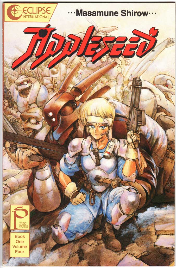 Appleseed Book 1 (1988) #4