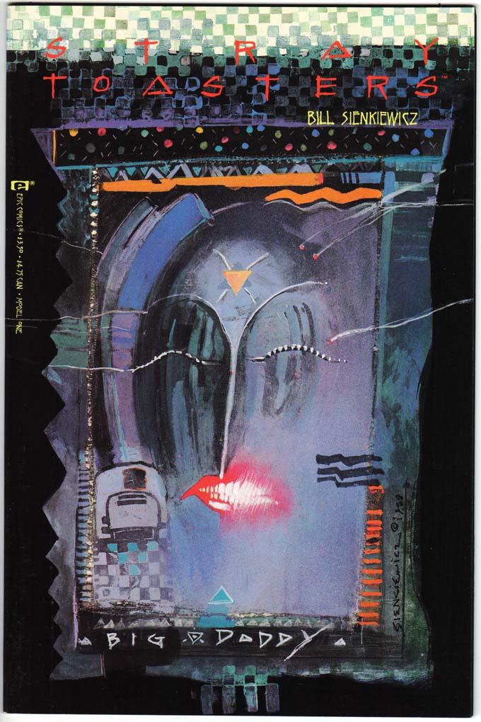 Stray Toasters (1988) #1 – 4 (SET)