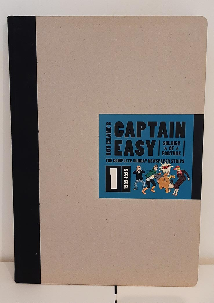 Captain Easy: Soldier of Fortune HC (2010) #1