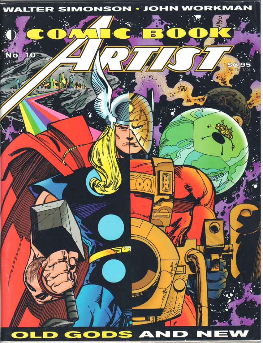 Comic Book Artist (1998) #10