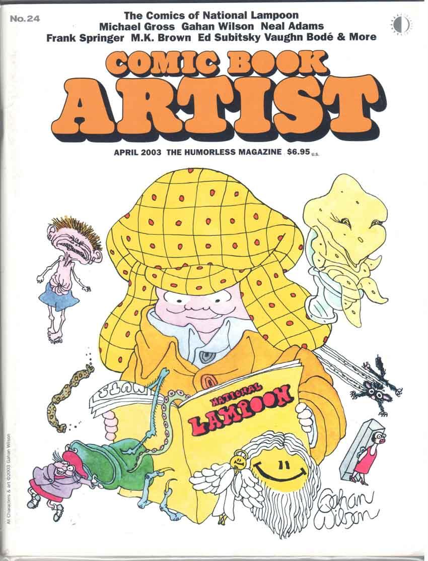 Comic Book Artist (1998) #24