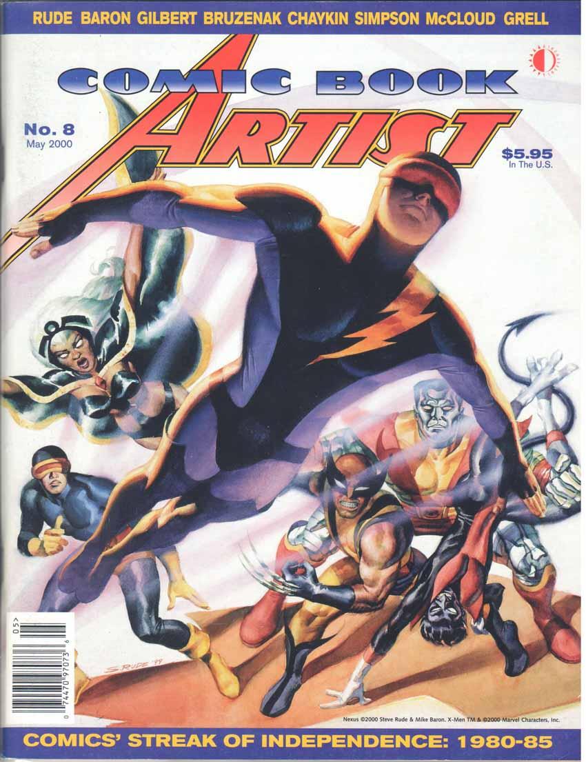 Comic Book Artist (1998) #8