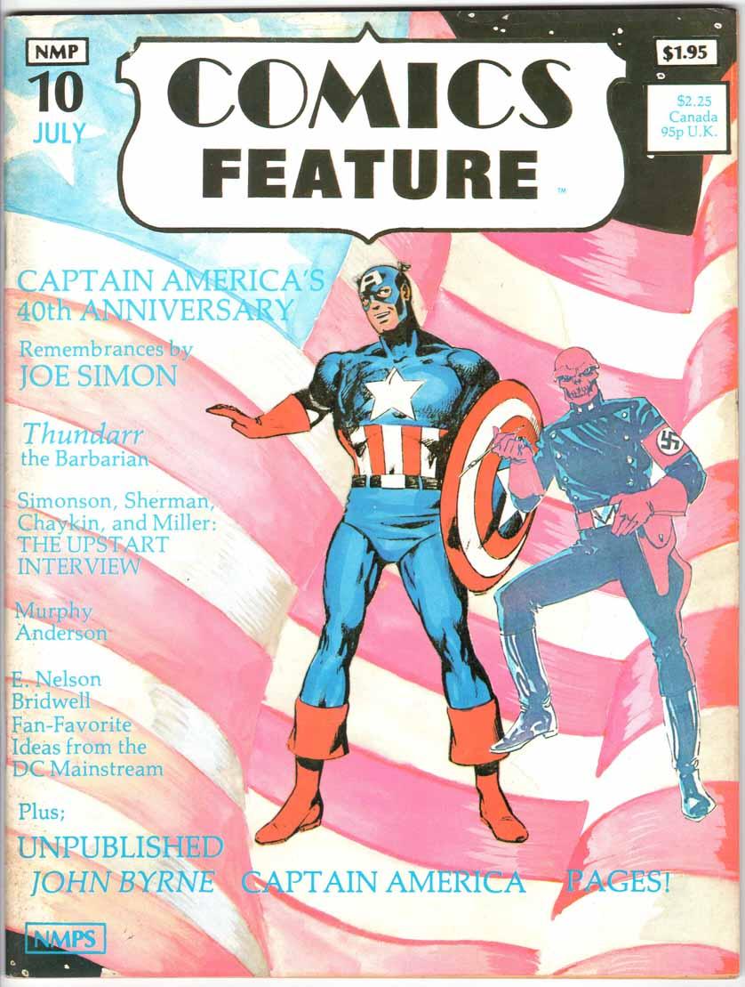 Comics Feature Magazine (1980) #10