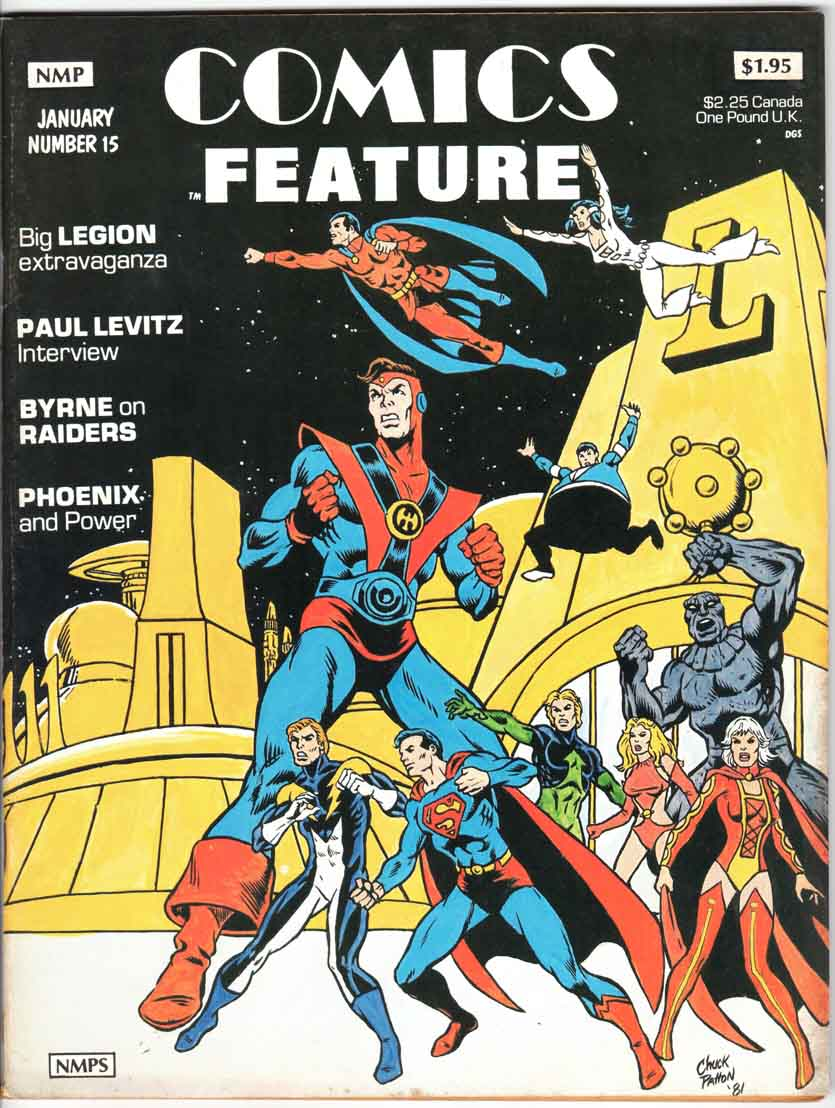 Comics Feature Magazine (1980) #15