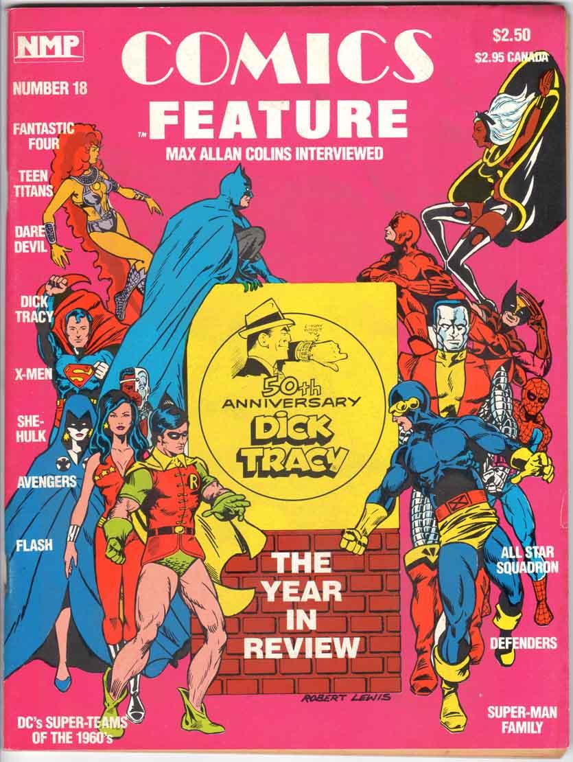Comics Feature Magazine (1980) #18