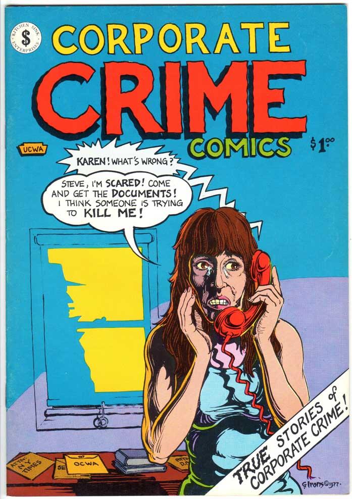 Corporate Crime Comics (1977) #1