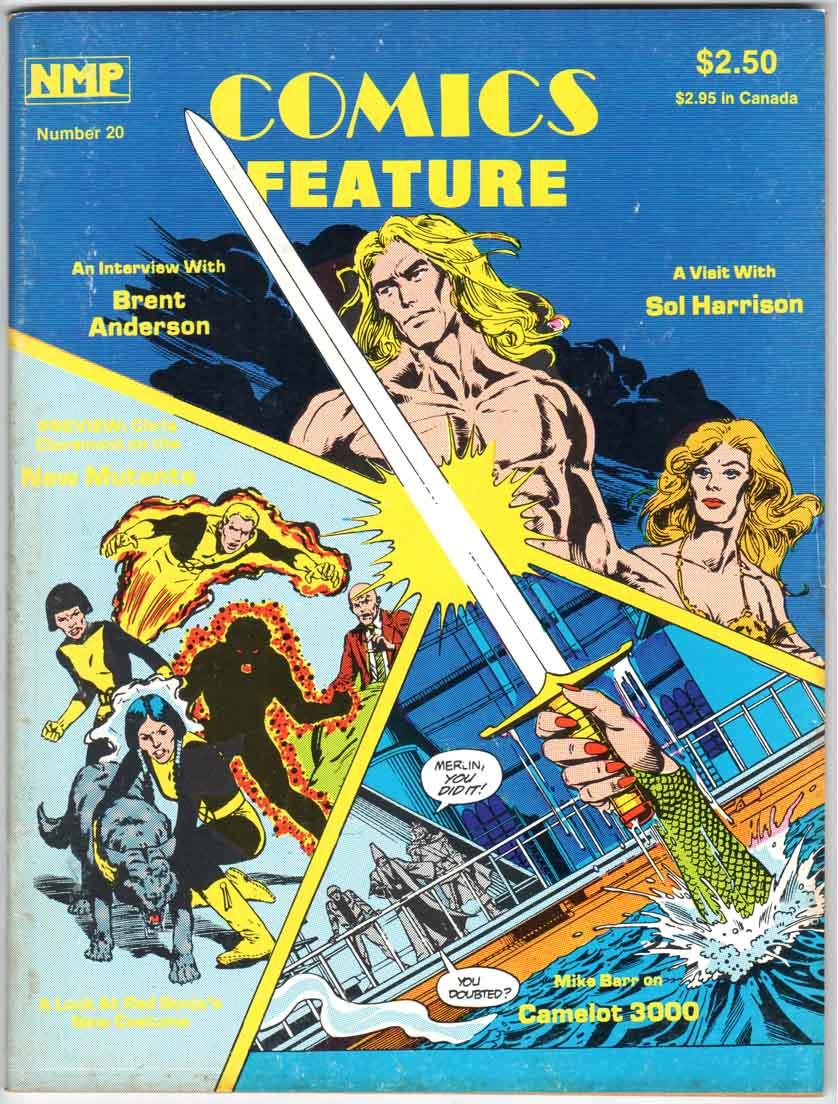 Comics Feature Magazine (1980) #20