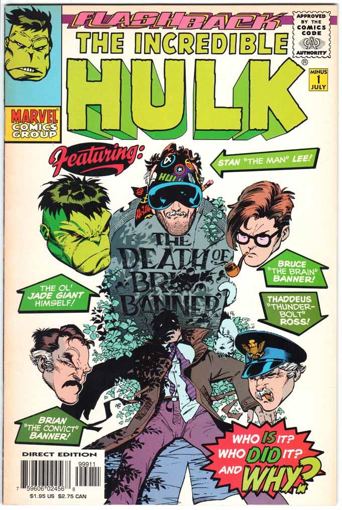 Incredible Hulk (1962) #-1A