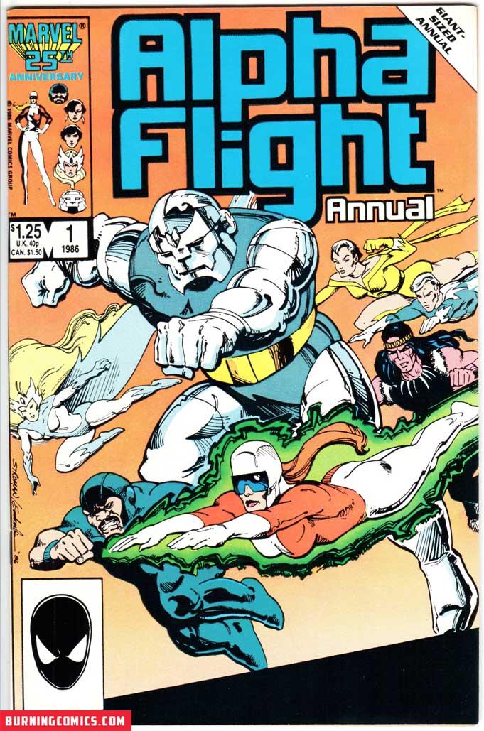 Alpha Flight (1983) Annual #1