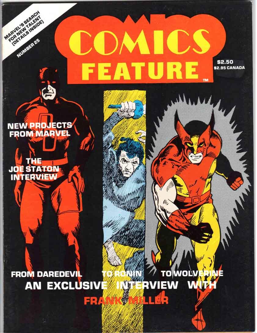 Comics Feature Magazine (1980) #25