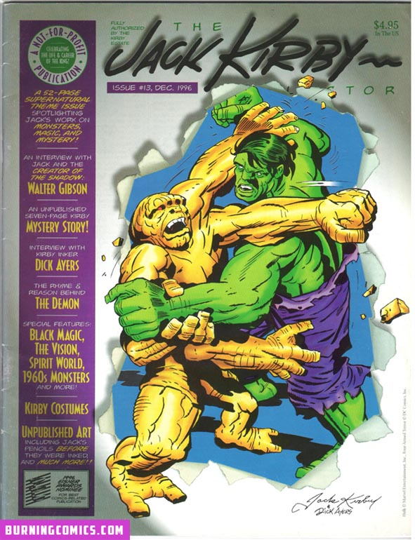 Jack Kirby Collector (1994) #13