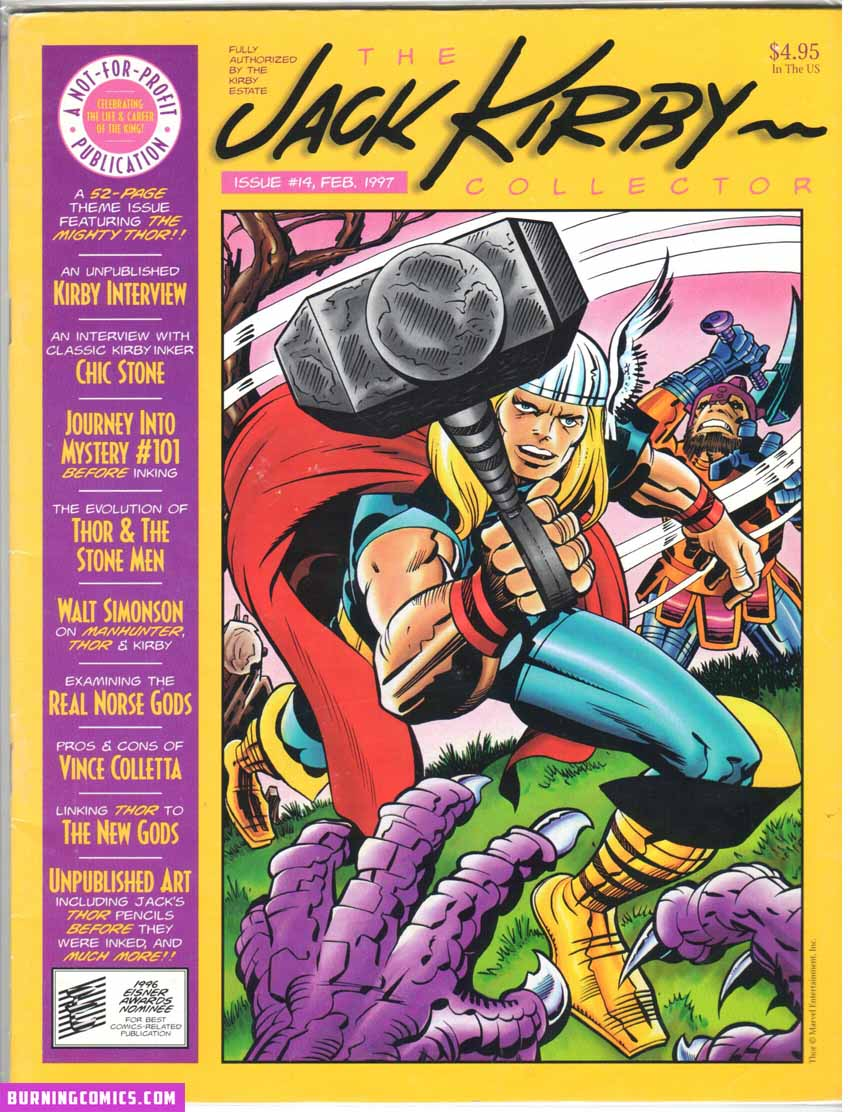 Jack Kirby Collector (1994) #14
