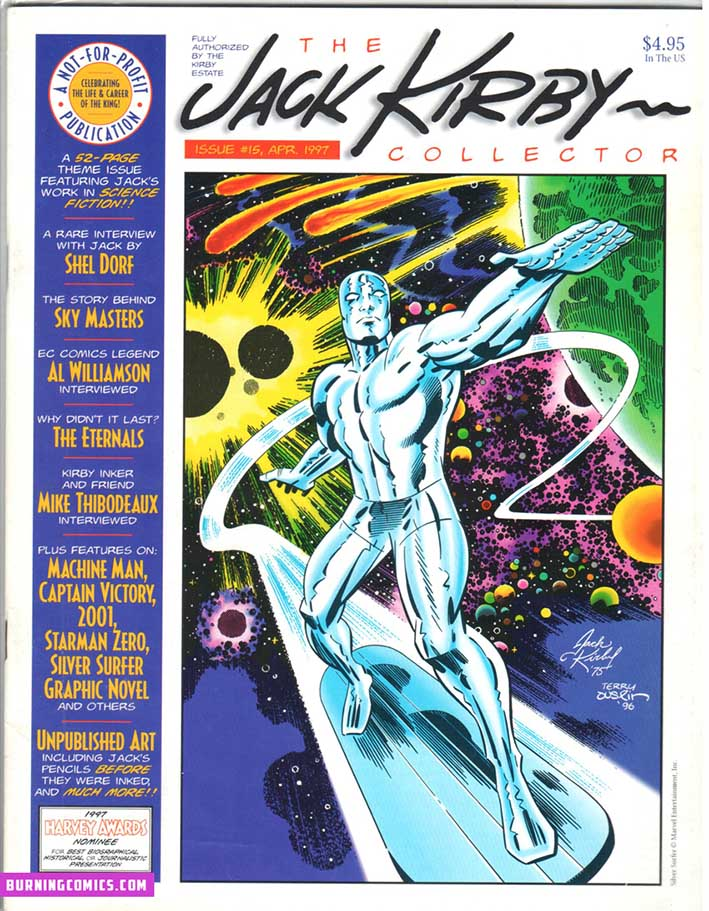 Jack Kirby Collector (1994) #15