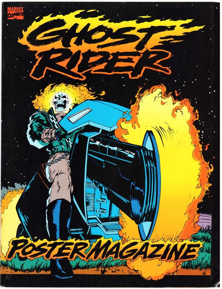 Ghost Rider Poster Magazine (1992)