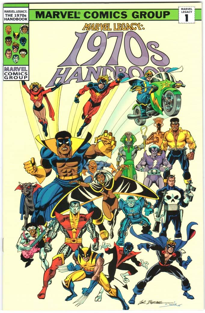 Marvel Legacy: 1970s Handbook (2006) #1