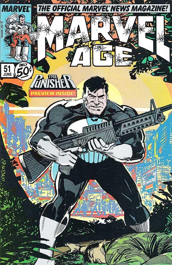 Marvel Age (1983) #51