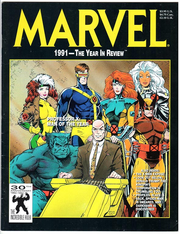Marvel the Year in Review #3/1991