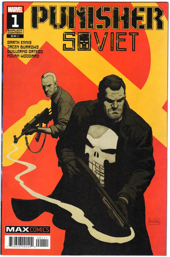 Punisher: Soviet (2019) #1 – 6 (SET)