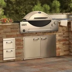 Outdoor Kitchen Bbq Oil Rubbed Bronze Faucet Weber Kitchens Bbqs Q