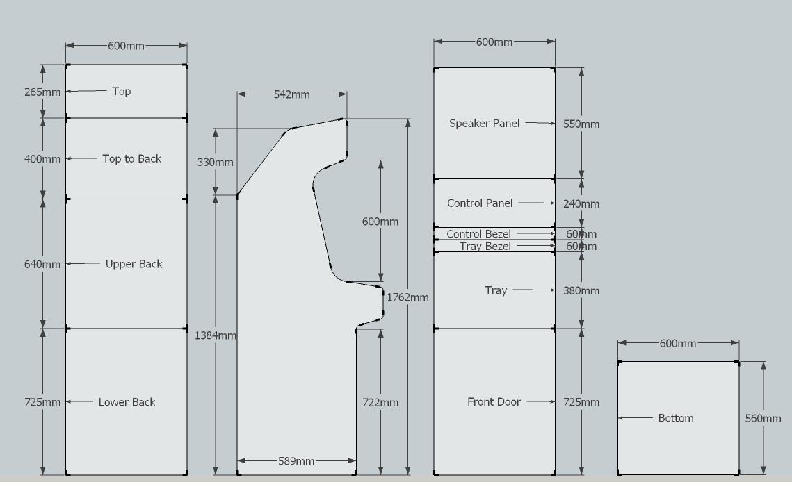 Bartop Arcade Cabinet Plans Pdf Usefulresults