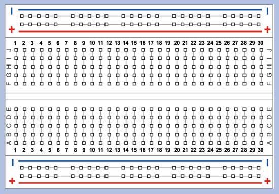 Breadboard Wiring Diagram: Pretty Breadboard Wiring Diagram Ideas - Electrical Circuit ,Design
