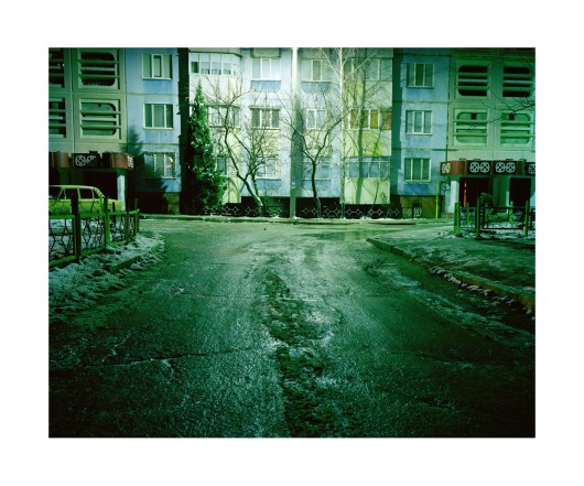 Solitary street lamp, Rybnitsa.