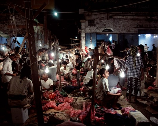 September 2010 – Aden – a Qat market. Photo Lorenzo Meloni