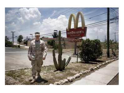 Publis affait officer on Guantanamo bay US naval Base, Cuba.
