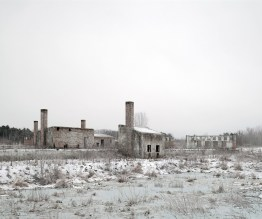 Abandoned Factory Site, near Szekesfehervar, West Hungar