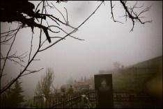 Cemetery of the war dead near the border with Azerbaijan.