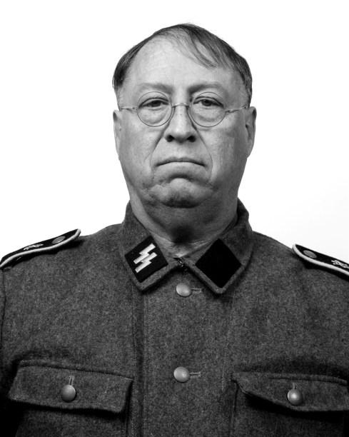 Soldbuch personal identificaltion photograph: Gary, Panzergrenadier 1st SS LAH.