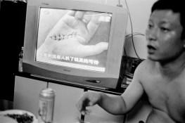 Headmaster Ding: education entrepreneur, karaoke champion, and pool hustler at home in Jishou City, China 2010.