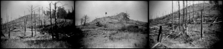 Paha Sapa (Black Hills). Once gold was discovered in the Black Hills, prospectors began a boom that consumed much of the Lakota's sacred land. The 1868 Fort Laramie Treaty guaranteed the Black Hills for the Lakotas, but the treaty was broken after General Custer announced the discovery of gold in 1874. (2010)
