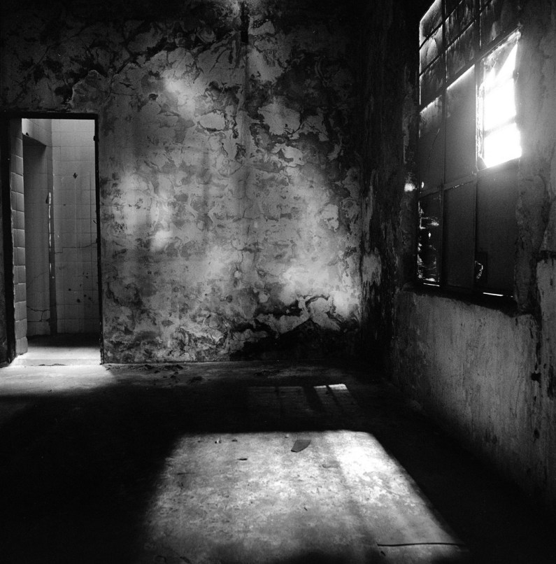 """The torture room of """"Olimpo"""" a former clandestine detention and torture center used by the federal police and military to interrogate and kill left-wing militants in Buenos Aires, Argentina during the military dictatorship 1975-1983. Buenos Aires, Argentina, November 2007."""