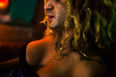 In an old house in the neighborhood of Lapa, in Rio de Janeiro, live and work as prostitutes, about 25 tranvestites. Valeria is one of them. Photo: Ana Carolina Fernandes
