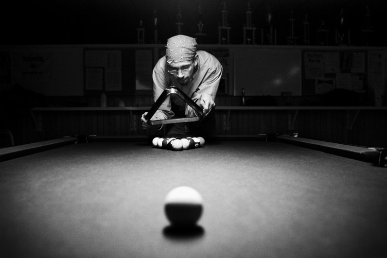 He has been asking me to go to the Knight s of Columbus for a while now, just to hang out, play some pool, and have a beer. Tonight it finally happened. It was great to just hang out with him, make a few pictures and spend some time relaxing with my brother.