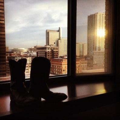 Sunrise. Denver, Colorado.