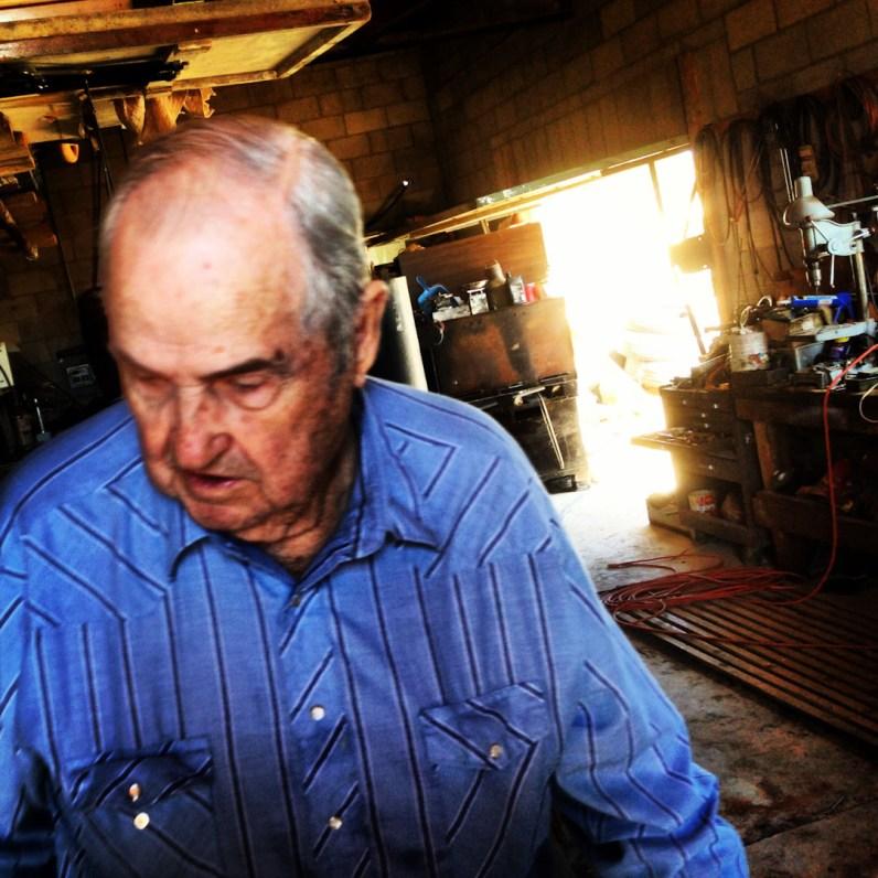 Grandfather. Farmington, New Mexico.