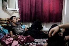Before he is about to leave Istanbul to illegally cross the river Evros into Greece, Mehdi, 16, an Afghan refugee, smokes a cigarette in a smuggler's apartment, Istanbul, Turkey, June 1, 2012. Later that night Mustafa will try to cross the river in a small boat with five other Afghan refugees. Most of them can not swim. Just ten days earlier an Afghan family tried to do the same crossing and five out of thirteen dissapeared in the river when their boat drowned. The land border between the two countries has become the main illegal entry point for refugees going to Europe according to Frontex, the European Union's border policing agency. In 2011 that amounted to more than 55,000 people who were detected, a 17 percent rise from the year before.