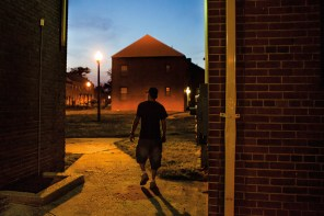 bounty hunters in the projects. Baltimore, Maryland, 2013
